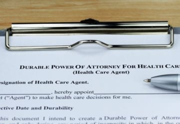 Durable Power Of Attorney Health Care Everett Washington